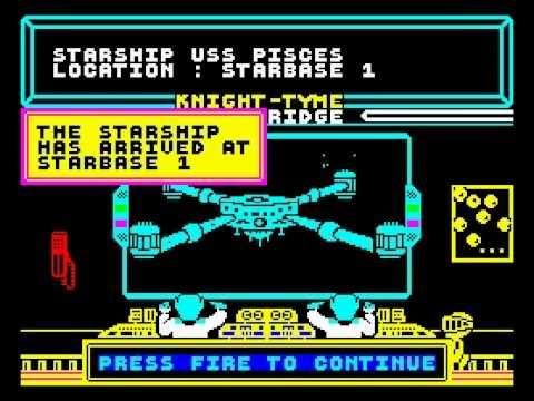 Knight Tyme 128K, ZX Spectrum Walkthrough