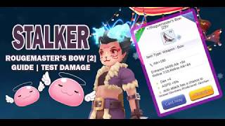 Stalker: Rougemaster's Bow IV [2] | Guide | Damage teset