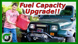FREE Fuel Capacity Increase 1991-1995 Jeep Wrangler YJ