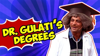 Dr Gulatis Degrees  Most Funny Video  The Kapil Sharma Show