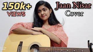 Jaan Nisaar cover by preety semwal |  Kedarnath | Arijit singh | female version | guitar cover