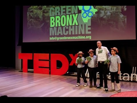 Standing Ovation at TEDxManhattan and The New Green Bronx Machine