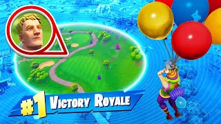 WINNING With *ONLY* BALLOONS In Fortnite