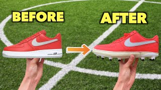 Turning ICONIC Shoes into Football Boots