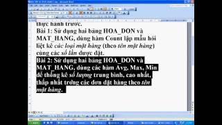 Bài tập và thực hành 7 - Tin học 12