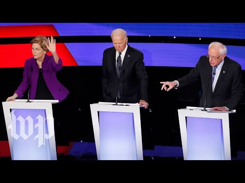 The Iowa Democratic debate, in 5 minutes