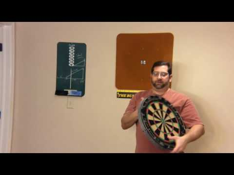🎯 How to Setup a Dart Board 🎯- with measurements