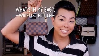 What's In My Bag?: Wristlet Edition (Louis Vuitton Mini Pochette)  |  ReeseIsWeird