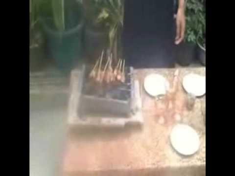 Video Cara membuat Sate maranggi Cianjur