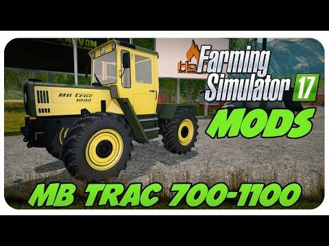 Farming Simulator 17 Presentazione MB Trac 700/800/900 by