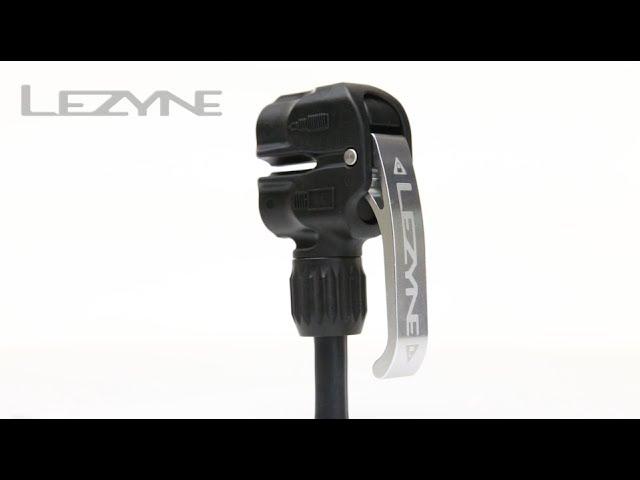 Видео Насос Lezyne Sport Floor Drive DV серебристый