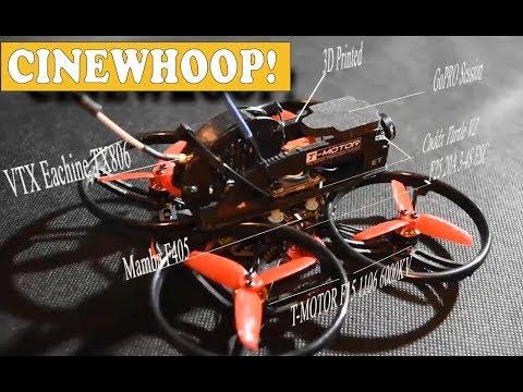 Et125 Cinewhoop - Propellers test