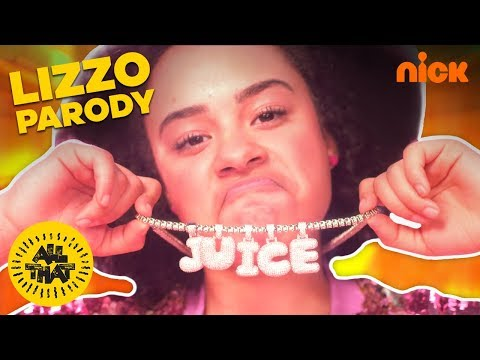 Lizzo – Juice (Official Parody Video) ft. All That Cast | Nickelodeon
