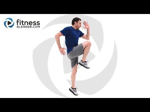 Intense at Home HIIT Routine – No Equipment HIIT Workout Video (With Low Impact Modifications)