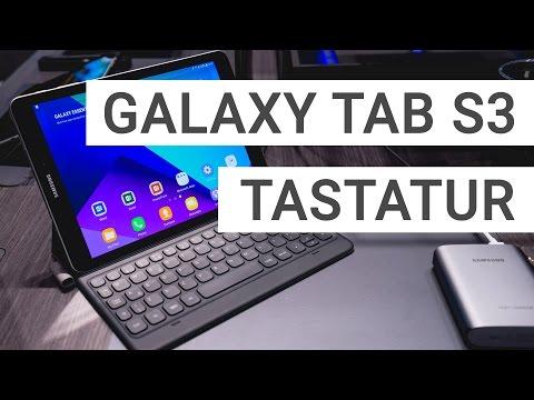 Samsung Galaxy Tab S3 Tastatur Cover ausprobiert | Deutsch