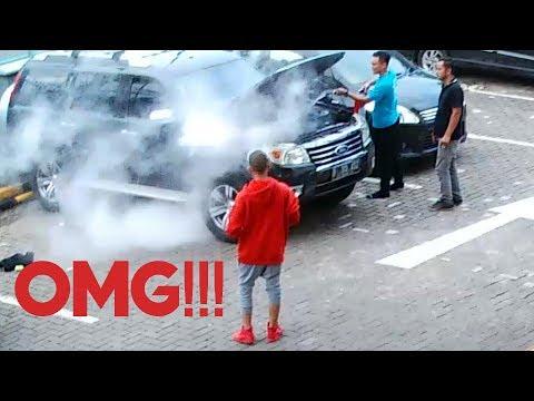 Mobilku TerBakar Di PIM! (Aaaaaaaaa)