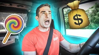Spending $120,000 on candy
