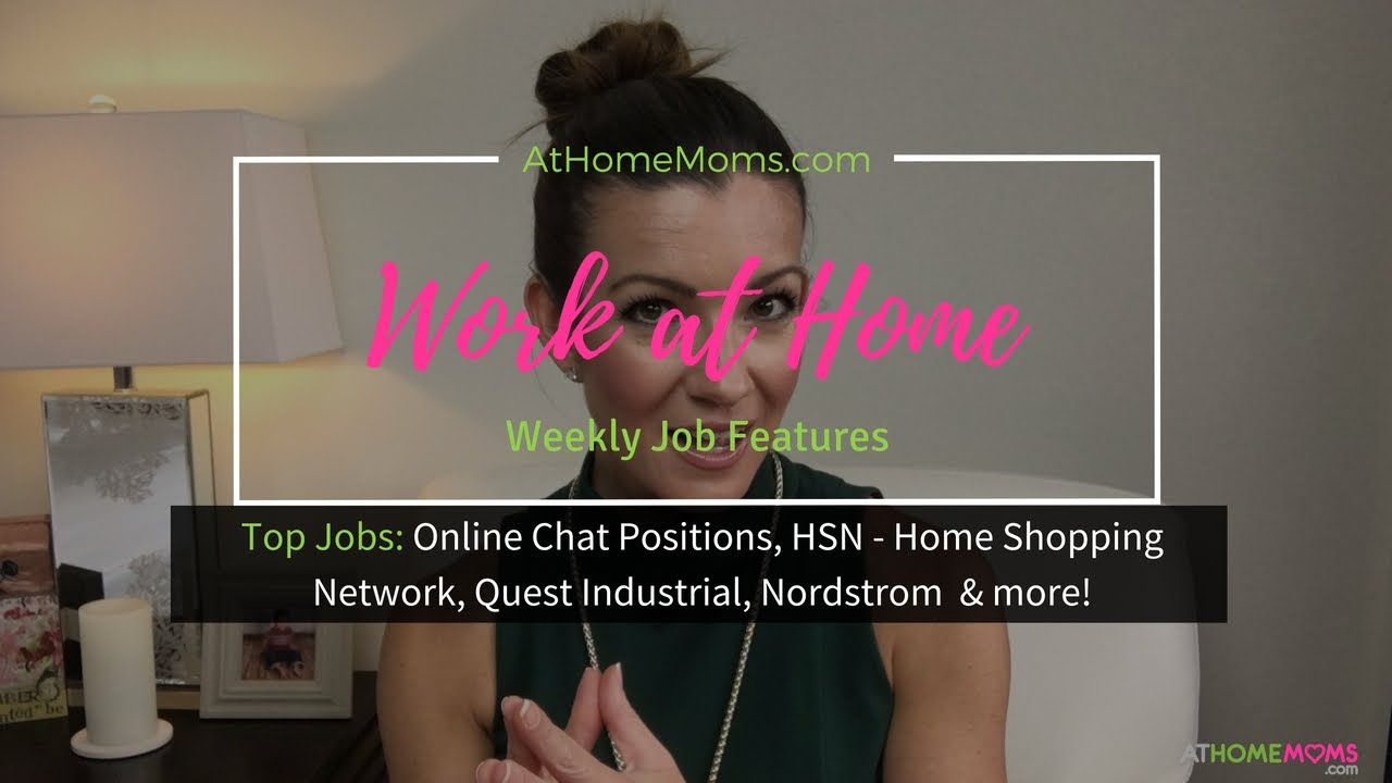 Make Money at Home Stay at Home Mom Jobs Online Chat Home