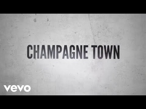 Jason Aldean - Champagne Town (Lyric Video)