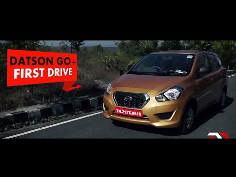 First Drive: Datsun Go+: PowerDrift