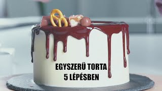 Fanyar csokitorta 5 lépésben