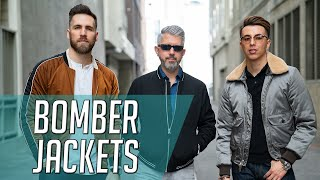 How To Wear Bomber Jackets At ANY AGE W/40overfashion