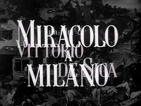 MIRACLE A MILAN - MIRACOLO A MILANO (1951) - Exclusive FRENCH Trailer!