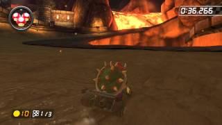 Bowser's Castle - 2:03.287 - Shaun (Mario Kart 8 World Record)