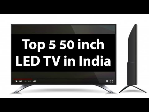 5 Best 50 inch LED TV in India 2020 | Top, New, Latest Comparison, Deals and Reviews of Smart TV