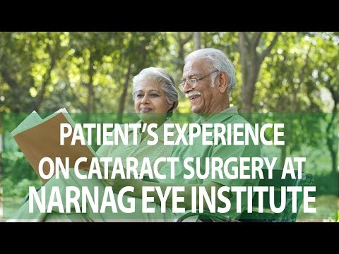 Patient's Reviews about Cataract Surgery at Narang Eye Institute