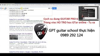 preview picture of video 'Cach su dung Guitar Pro 6 (How to use GP6)'