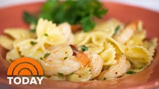 <b>Haylie Duff</b>'s Miso Shrimp Pasta Takes Only 20 Minutes To Make  TODAY