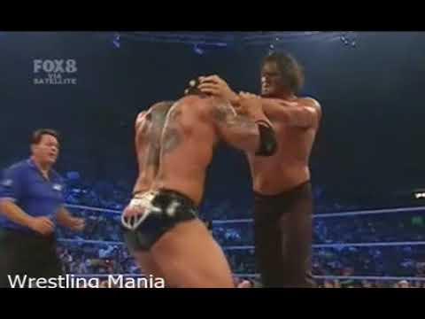 The Great Khali vs Batista -Smackdown 2007 -Khali Almost Killed Batista