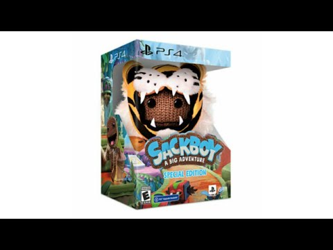 Sackboy A Big Adventure Special Edition Unboxing & Review