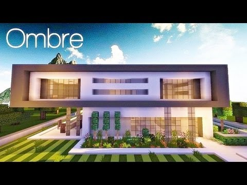 Ombre A Modern Concept Home Pop Reel Minecraft Project