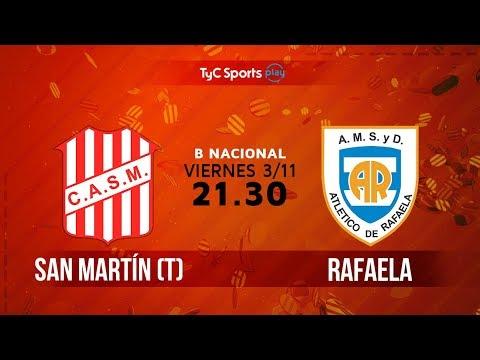 Primera B Nacional: San Martín (T) vs. Atlético de Rafaela | #BNacionalenTyC