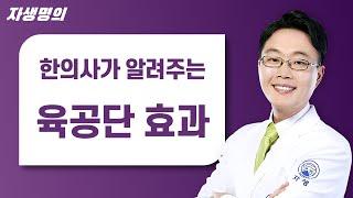 자생한방병원 한의사가 알려주는 육공단효과의 모든것