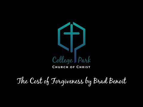 The Cost of Forgiveness by Brad Benoit