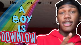 HOW TO KNOW A BOY IS GAY/DOWNLOW !! (GAYDAR TIPS)‼️😂