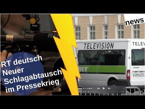RT deutsch: Neuer Schlagabtausch im Pressekrieg [Video]