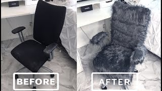 ♡ DIY || Faux Fur Chair ♡