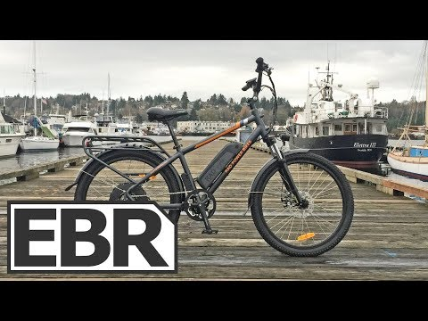 Rad Power Bikes RadCity Video Review – $1.5k Quiet Electric Bike with Throttle, Lights, Fenders