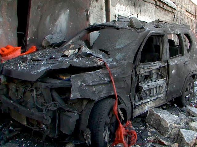 Взрыв в гаражном кооперативе