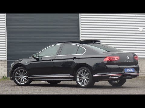 Volkswagen NEW Passat R-Line 2020 in 4K Deep Black Pearl 18 inch Montery walk around & detail inside