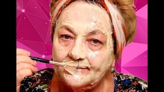 Супер маска для лица из дрожжей с перекисью водорода