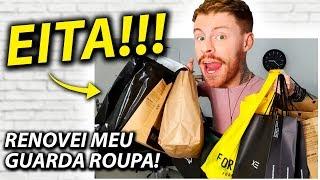 SHOPPING DAY Especial: RENOVEI MEU GUARDA ROUPA! Bora Ver O Que Comprei? 💰