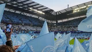 Shalala Shalala City Electric Atmosphere Manchester City Vs Tottenham 4-3