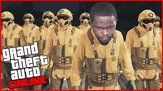 GRAND THEFT AUTO HAS A BATTLE ROYALE MODE! - GTA Online Gameplay