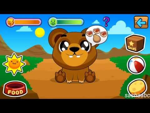 my virtual bear обзор игры андроид game rewiew android