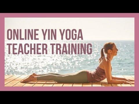 Get Certified To Teach Yin Yoga! - YouTube
